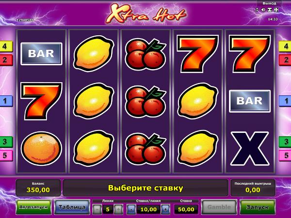 Играй в слот Xtra Hot на сайт игровых автоматов Вулкан Гранд