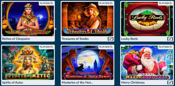 Играй в топовые игровые автоматы от Playson на официальный сайт Вулкан Платинум