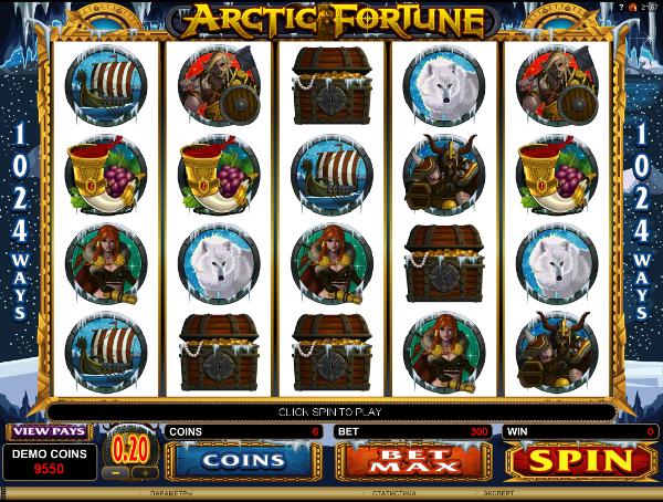 Игровой автомат Arctic Fortune - играть онлайн в казино Вулкан Россия