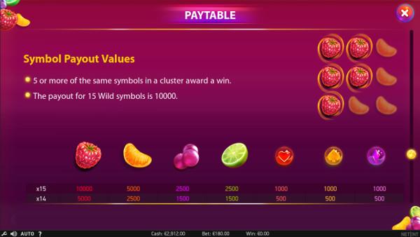 Игровой автомат Berryburst Max - в Онлайн-казино Vulcan Vegas регулярно побеждай