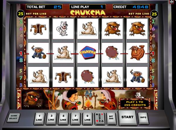 Игровой автомат Chukchi Man - богатства севера в казино Джойказино