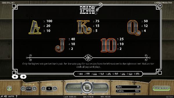 Игровой автомат Dead or Alive - сокровища Дикого Запада в казино Вулкан Платинум
