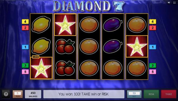Игровой автомат Diamond 7 - узнай правила игры в казино Вулкан Россия