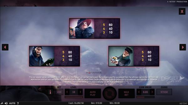 Игровой автомат Dracula - играть в казино Император бесплатно