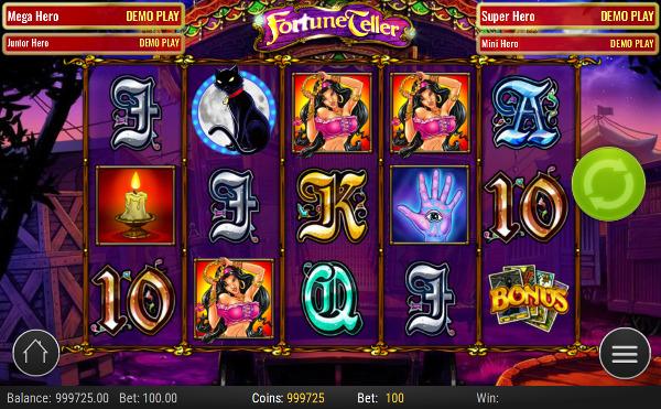 Игровой автомат Fortune Teller - для игры нужно только скачать приложение Джойказино