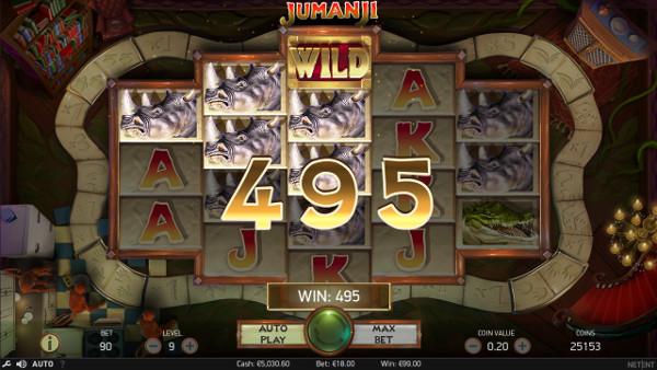 Игровой автомат Jumanji - ощути выгоду игры в Вулкан Гранд казино