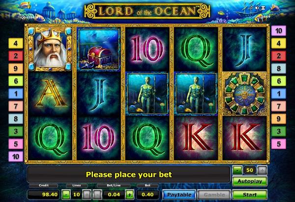 Игровой автомат Lord Of The Ocean - глубоководные приключения