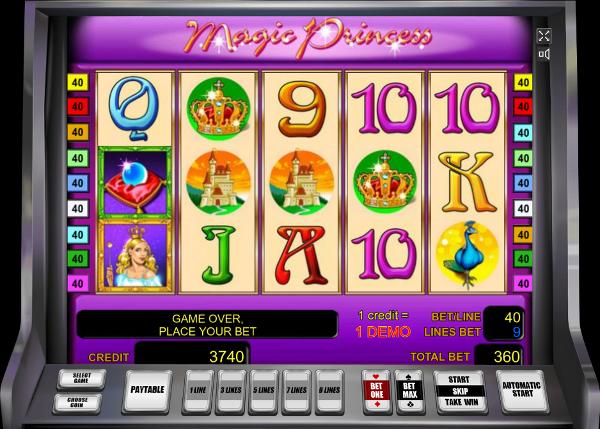 Игровой автомат Magic Princess - все что нужно, это скачать Вулкан 24 на телефон или ПК