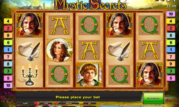 Игровой автомат Mystic Secrets - стань детективом, раскрой тайны богатства