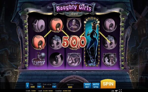 Игровой автомат Naughty Girls Cabaret - высокая вероятность выигрыша в казино Чемпион