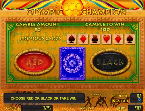 Игровой автомат Olympic Champion - немалые выигрыши в онлайн казино Вулкан Делюкс