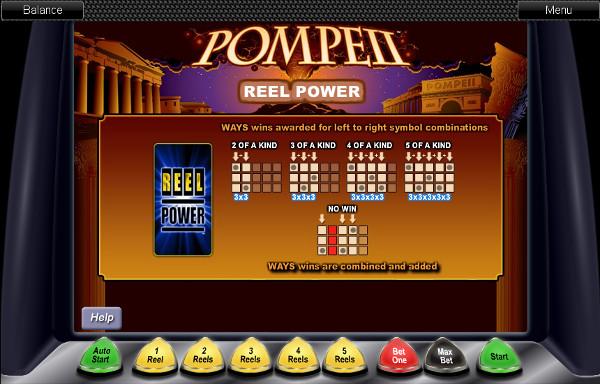Игровой автомат Pompeii - играть в казино Вулкан, регистрация быстрая