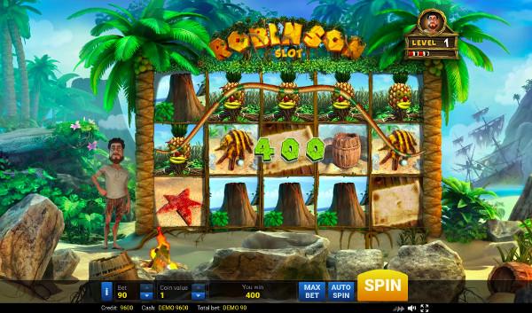Игровой автомат Robinson - выиграй джекпот в Вулкан казино