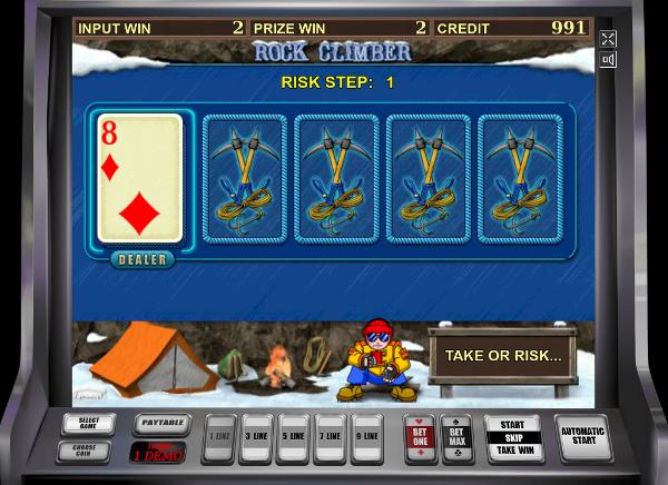 Игровой автомат Rock Climber - регулярный доход в казино Вулкан