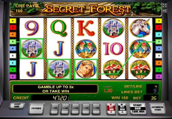 Игровой автомат Secret Forest - покори таинственный лес