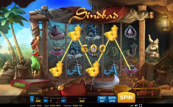 Игровой автомат Sindbad - на рабочее зеркало Вулкан Россия играйте круглосуточно