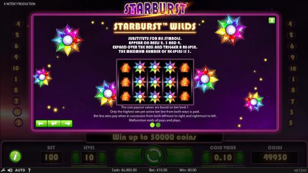 Игровой автомат Starburst - выиграть в онлайн казино Чемпион не составит труда
