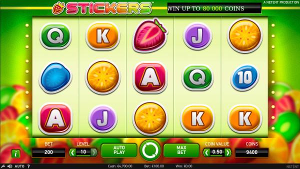Игровой автомат Stickers - в Плей Фортуна казино играть онлайн в топ НетЕнт слоты