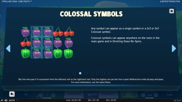 Игровой автомат Strolling Staxx Cubic Fruits - играйте на рабочее Адмирал Х зеркало