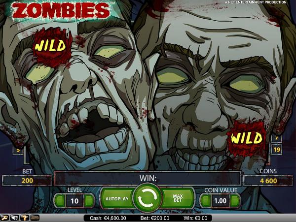 Игровой автомат Zombies - большие выигрыши в казино Azino777
