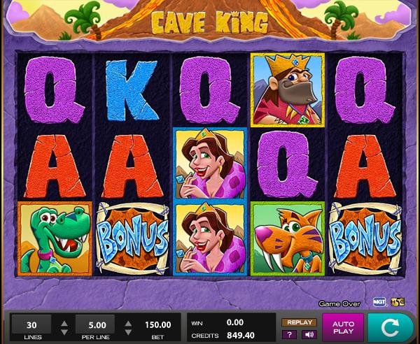 Игровой слот Cave King порадует каждого игрока в азартный клуб Vulkan24