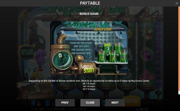 Информация о казино Вулкан Старс и как играть в автомате Monster Lab