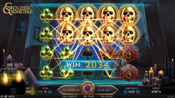 На зеркало Вулкан казино без ограничений побеждай в слоте Golden Grimoire