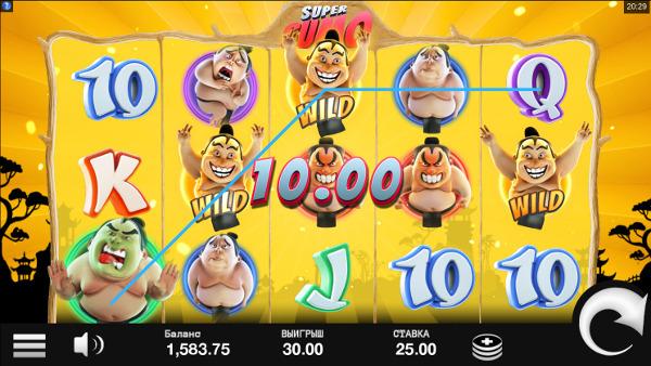 Слот Super Sumo - в Плей Фортуна казино получай промокод для игры