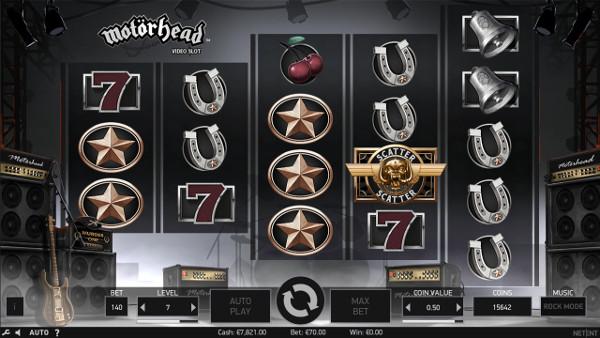 В казино Вулкан - играть с комьютера на официальном сайте в автомате Motorhead